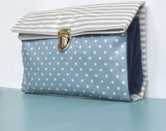 Sewing package diaper bag * blue *.
