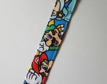 Pacifier Clip Nintendo/mario