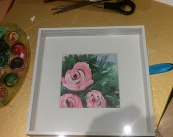 Three Roses painting