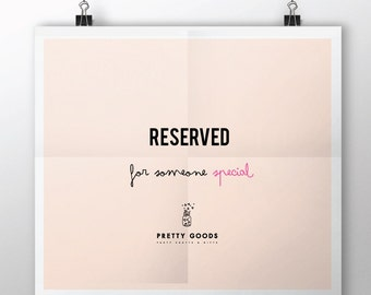 Reserved Poppers