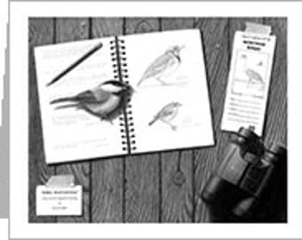 Bird Watching Notecard