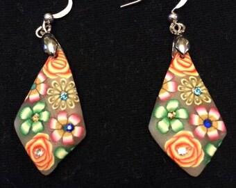 Funky Flower Earrings