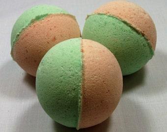 The Citrus Fizzer Natural Bath Bomb - Orange & Lime