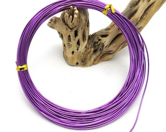 1 Roll 1.0mm Aluminum Wires Purple 10m/roll (BR5)