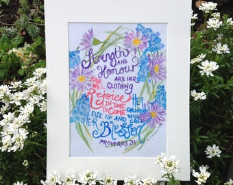 Proverbs 31 painting