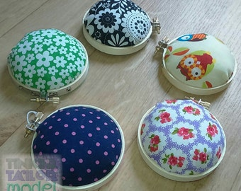 Embroidery Hoop Pin Cushions