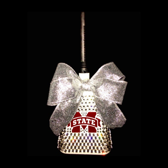 Mississippi State Bling Cowbell MSU Cowbell Hail State