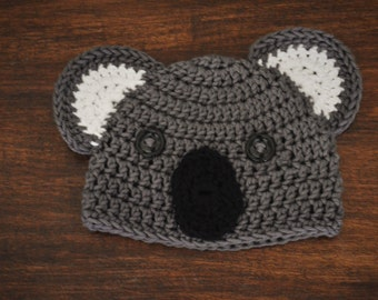 Bindi the Koala Crochet Hat