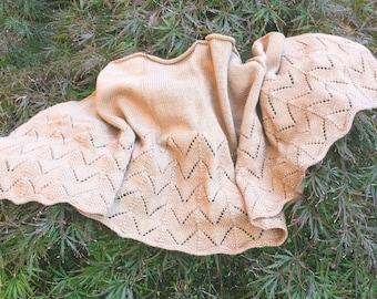 Mohair shawl.