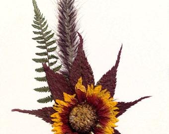 Handmade Flower Card