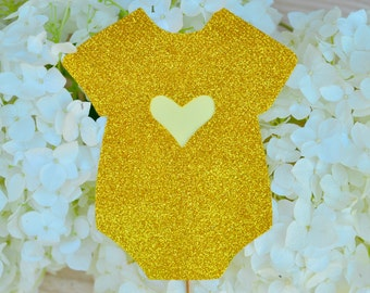 Baby Shower Cake Topper Baby Shower Decorations Glitter Baby Shower Cake Topper Glitter Cake Topper Baby Boy or Girl Baby Shower