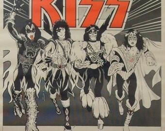 The Return Of Kiss 18x23 Poster Gene Simmons