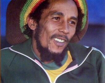 Bob Marley 23x35 Close Up #1180 Poster 1986 Reggae