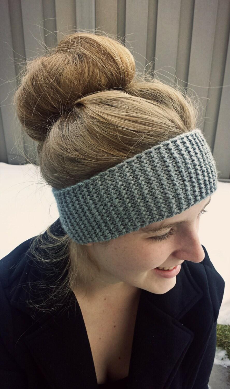 LOOM KNITTING PATTERNS Squishy Headband Ear Warmer in regular