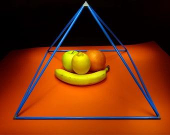 Small plastic pyramid