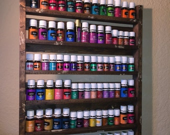 Essential Oil Shelf XXL Size holds 96 (5ml) bottles