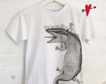 Crocodile ... BABY T-SHIRT