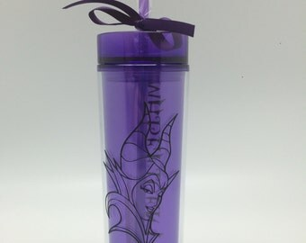 Purple Skinny Tumbler Villains