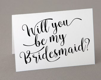 will you be my bridesmaid card printable | will you be my maid of honor template | instant download | will you be my flower girl | bridemaid