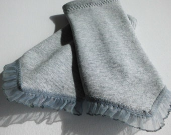 Warmers of Dolores A grey tip for ladies from Alpenfleece size M