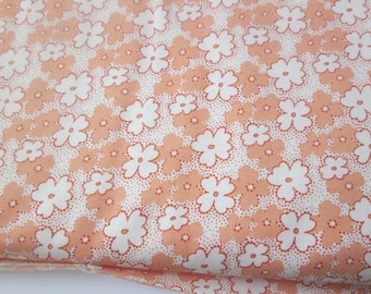 Yardage of Windham Fabric's Feedsack VI Orange Blossom