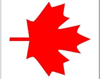 Canadian Flag Flat LAMINATED Cornhole Wrap Bag Toss Decal Baggo Skin Sticker Wraps