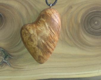 Pendant birch burl, Necklace burl, Wood Necklace, Wood Pendant