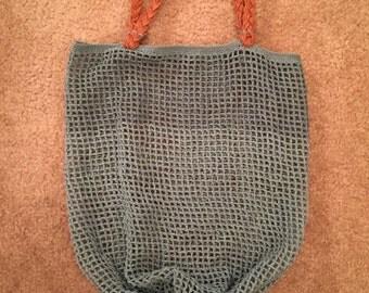 Green Handmade Market Bag