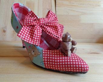Vintage/ rockabilly style teddy bear shoes
