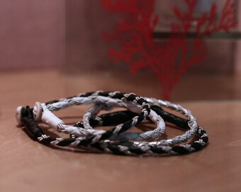 Sami Lapland Bracelet - Round Braid S4