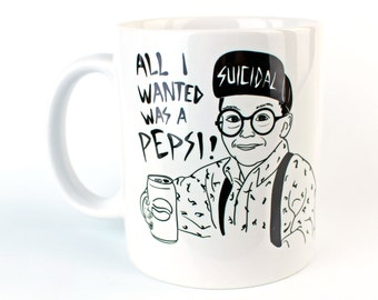 All I Wanted Was A Pepsi - Coffee Mug - Suicidal Fuller - Home Alone