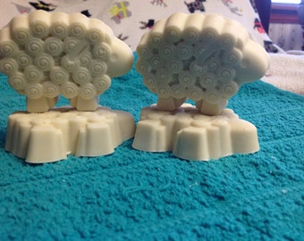 Sheep Shaped Castille Soap