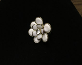 Vintage Ring, Flower Stretchy Band, Costume