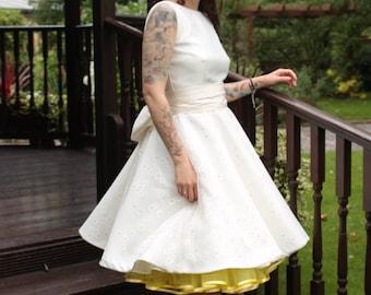 1950's style Wedding Dress SAMPLE SALE