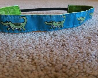 No-Slip Alligator Headband