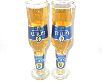 Fosters Gold Glasses