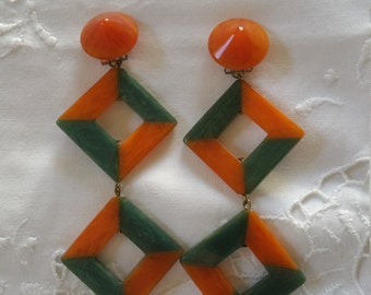 Bakelite Earrings