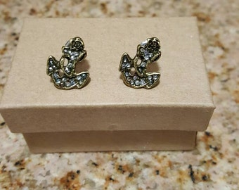 Anchor Earrings, sailor earrings, anchor jewelry, sailor jewelry