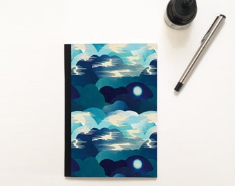"Notebook ""Blue cloud"""