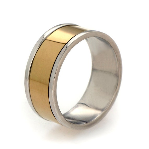 18k gold s wedding band yellow gold band ring by