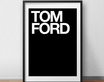 Tom Ford Quote - I am My Own Muse, Motivational Print, Inspirational Art, Home Decor, Wall Decor