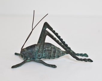 Lucky  Cricket Metal Figure