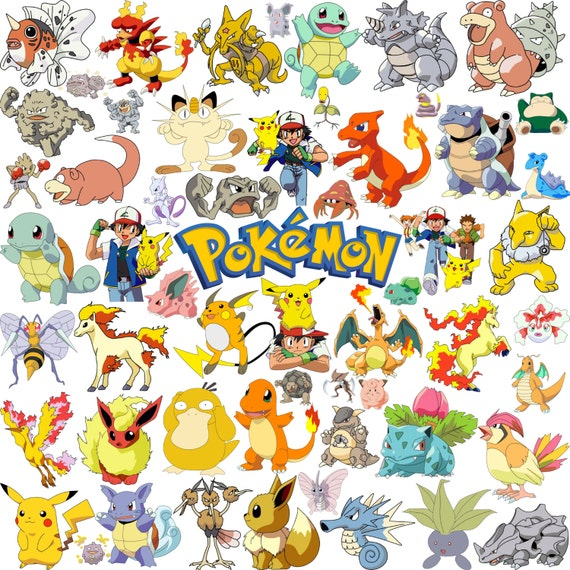 140 Pokemon Clipart Png Graphic