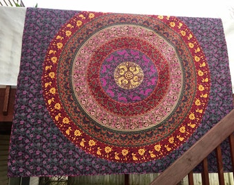 Free shipping,Handmade Indian quilt