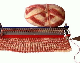 knitting machines looms etsy. Black Bedroom Furniture Sets. Home Design Ideas