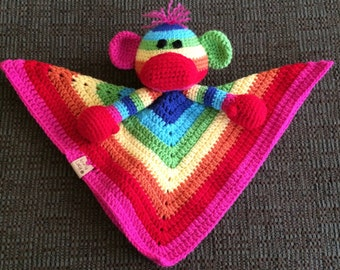 Sock monkey lovey