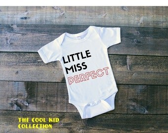 Little Miss Perfect Onesie