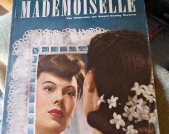 July. 1941 Fashion Catalog Madamoiselle