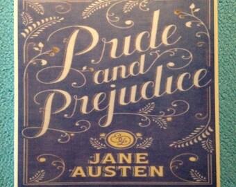 Pride and Prejudice by Jane Austen Decorative Book Coaster