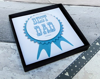 Father's Day Rosette | Badge For Daddy | Gifts For Dad's